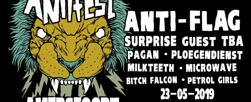 Win met je punkband een plek op Antifest 2019 in FLUOR