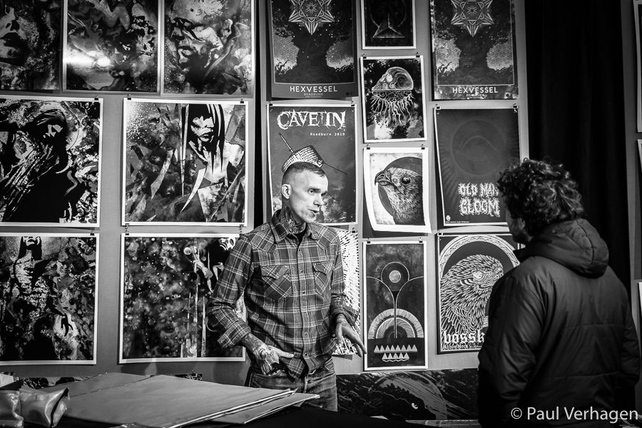 Jacob Bannon at the Full Bleed Expo - Photo: Paul Verhagen