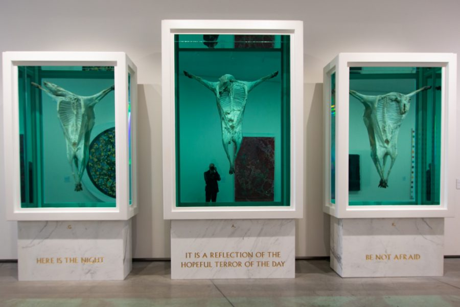God Alone Knows by Damien Hirst, at the Aestrup Fearnley Museum, photo Mark van Schaick