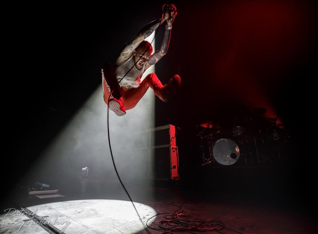 Frank Carter op Faster & Louder, foto Patrick Spruytenburg