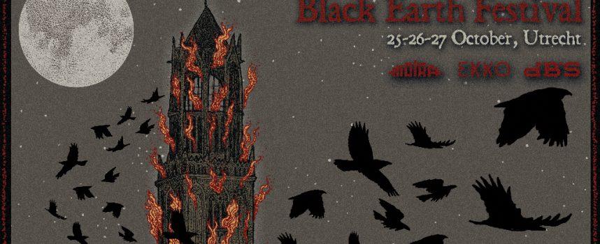 Eerste namen Black Earth Festival: oa Trepaneringsritualen, Hemelbestormer en Phantom Winter