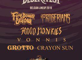 Desertfest gaat op de zware Belgische toer