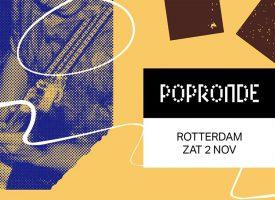 Popronde x NMTH hotspots in de Grote Kerk (Emmen), Jack's Music Bar & In De Buurt (Zwolle), Bar3 & de Zondebok (Rotterdam)