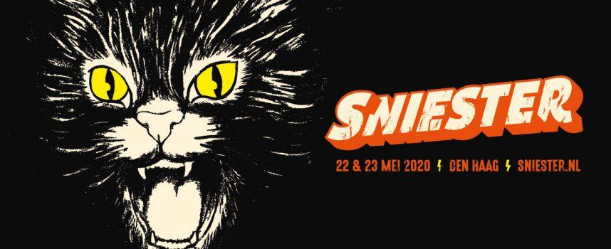De eerste handvol heavy namen van Sniester 2020, met o.a. DOOL, Show Me the Body (excl. NL show!) en Saint Agnes