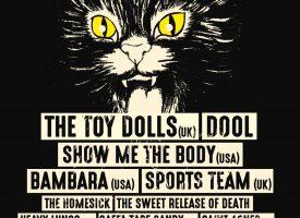 Sniester dropt zware nieuwe namen, waaronder The Toy Dolls, Bambara en 45ACIDBABIES