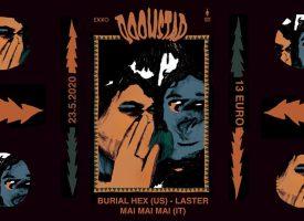 DOOMSTAD #7 met Burial Hex, Mai Mai Mai en Laster gaat niet door
