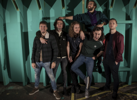 Vrijdagmiddagbangers met Everyday Robots, Vain Louie, Angels and Devils en Gunyama