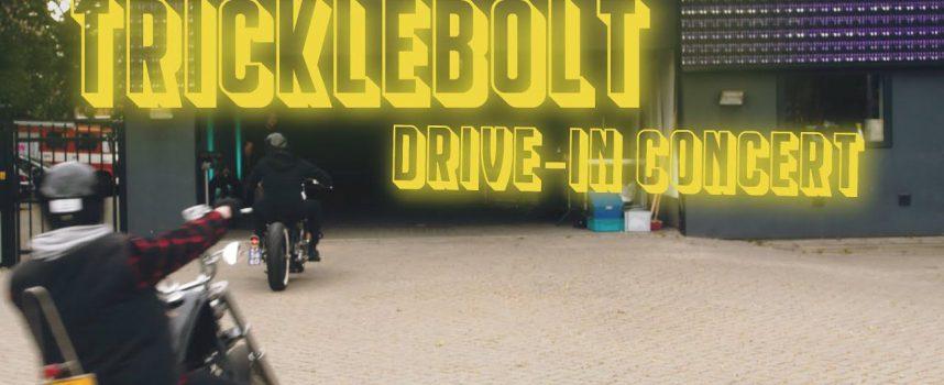 Tricklebolt in Hedon: zie hier de aftermovie van het eerste drive-in concert van Nederland