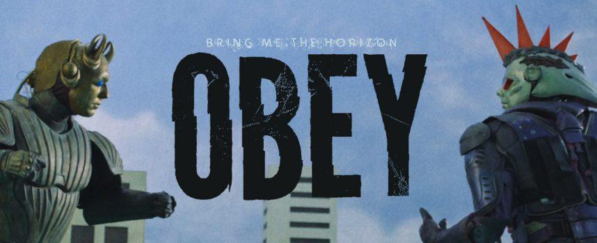 Robots Bring Me The Horizon en Yungblud duelleren in single Obey