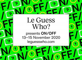 Goed nieuws in barre tijden: Le Guess Who? komt met een mep heavy namen voor ON/OFF!