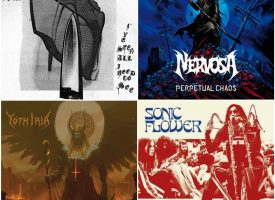 Hardhitting Albumreviews met Nervosa, Yoth Iria, Sonic Flower en The Body