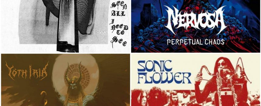Hardhitting Albumreviews met Nervosa, Yoth Iria, Sonic Flower en The Body