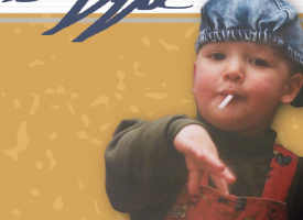 Ernem garagepunks Wasted Youth Club smoken een Ciggie