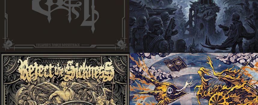 Hardhitting Albumreviews met Layr, Memoriam, Reject The Sickness en Subterranean Masquerade