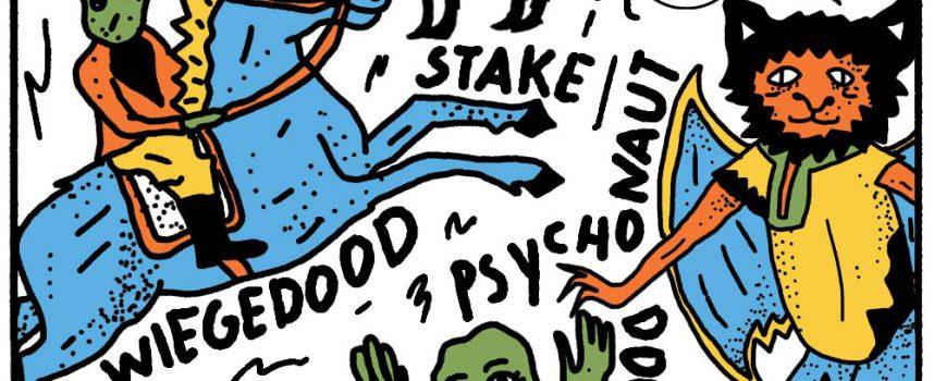 Mokerharde middag in Tivoli op 21 november met o.a. Brutus, Dool, Stake en Psychonaut!