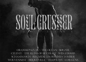 Dringende festivaltip: Soulcrusher 2021 maakt programma compleet met o.a. Bølzer, Firebreather en Noctambulist op 1+2okt!